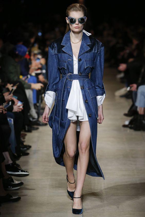 Женские джинсовые пальто 2016-2017 (11)