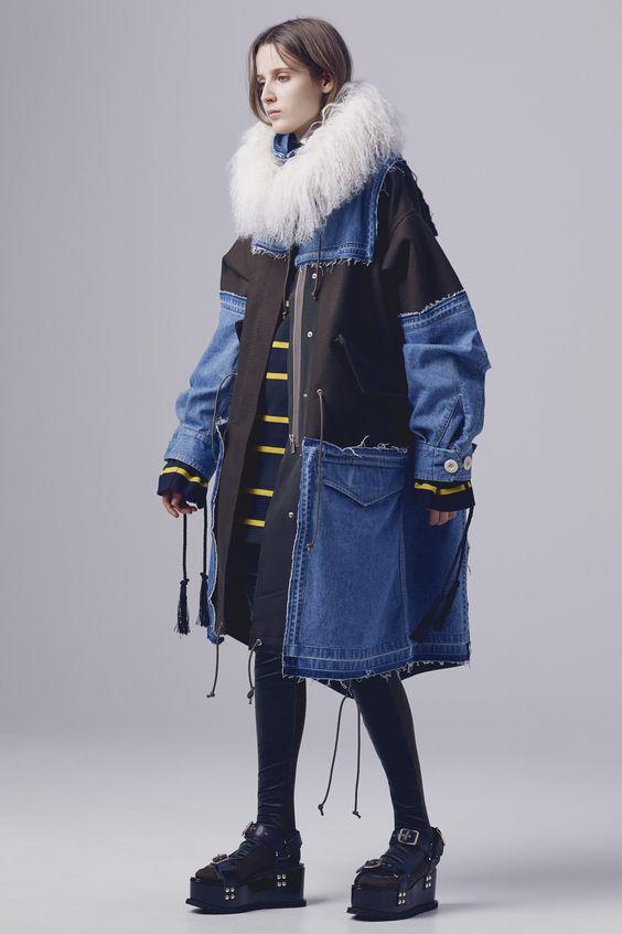 Женские джинсовые пальто 2016-2017 (14)