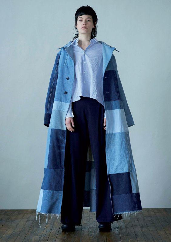 Женские джинсовые пальто 2016-2017 (20)