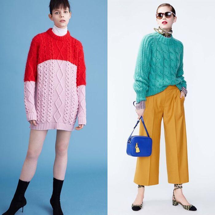 модные трикотажные свитера осень-зима 2016-2017 (14)