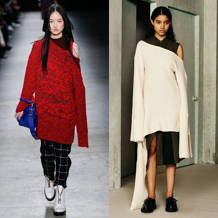 Вязанные свитера женские 2017