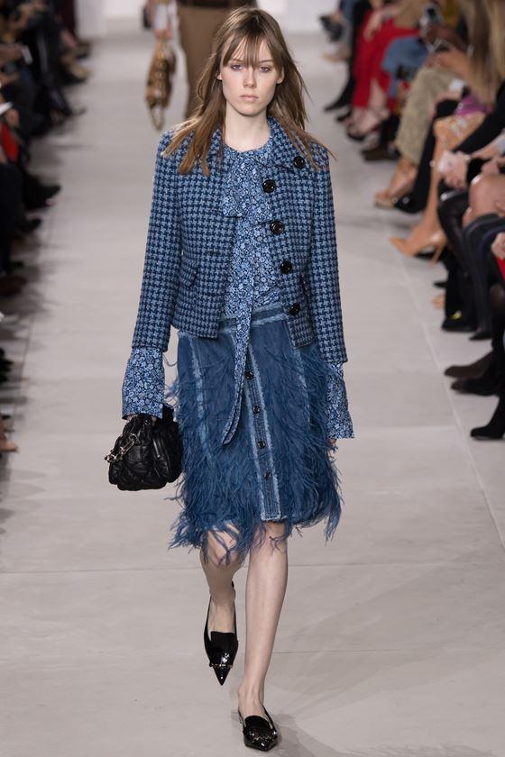 Джинсовые юбки осень-зима 2016-2017 модные тенденции (10)