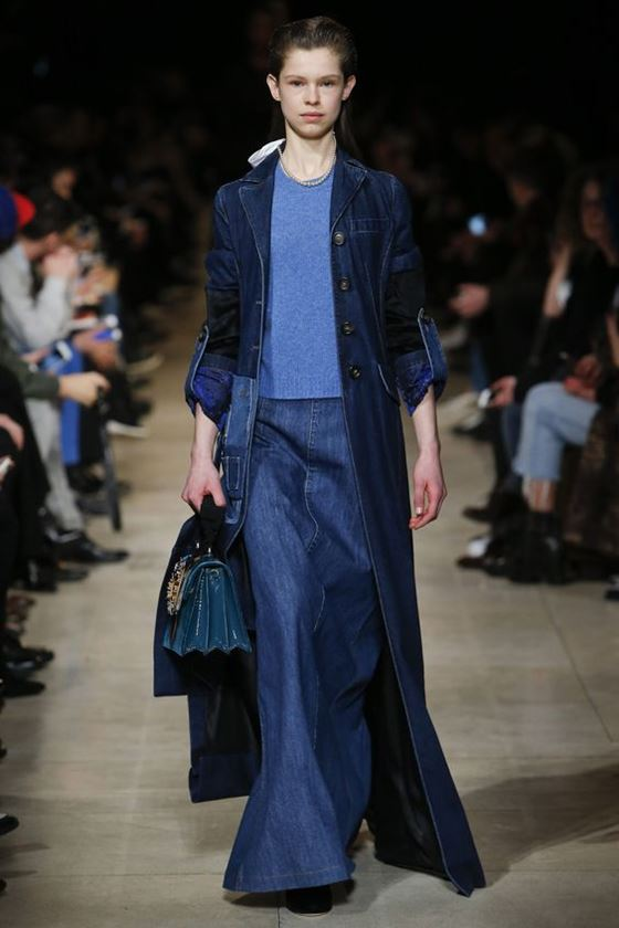 Джинсовые юбки осень-зима 2016-2017 модные тенденции (11)