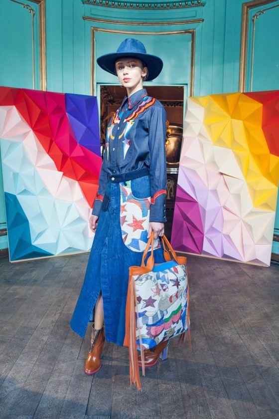 Джинсовые юбки осень-зима 2016-2017 модные тенденции (19)