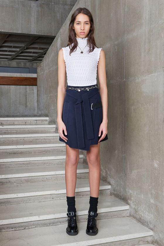 Джинсовые юбки осень-зима 2016-2017 модные тенденции (5)