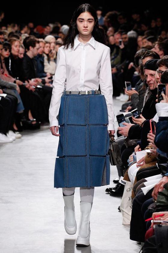 Джинсовые юбки осень-зима 2016-2017 модные тенденции (6)