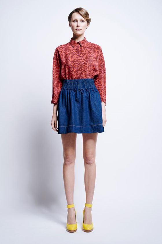 Джинсовые юбки осень-зима 2016-2017 модные тенденции (7)