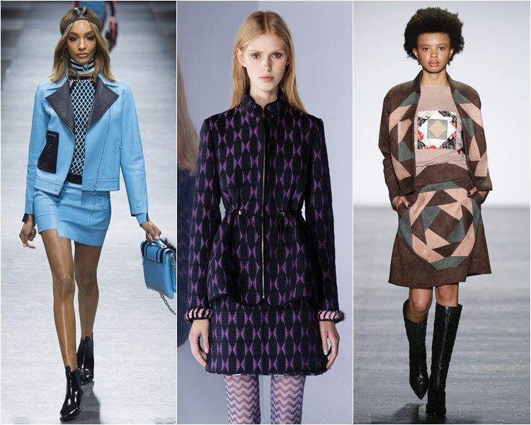 Костюмы с юбками осень-зима 2016-2017  (3)