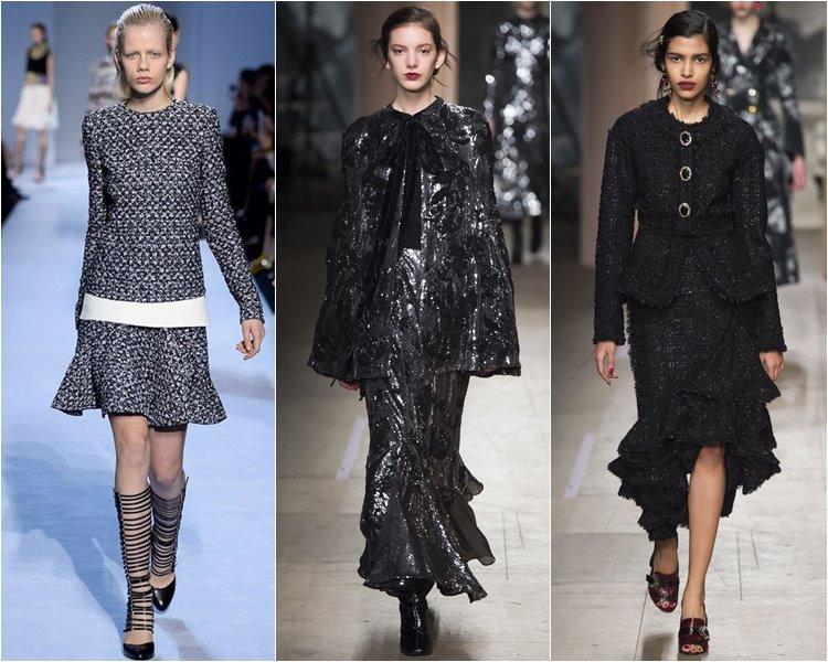 Костюмы с юбками осень-зима 2016-2017  (4)