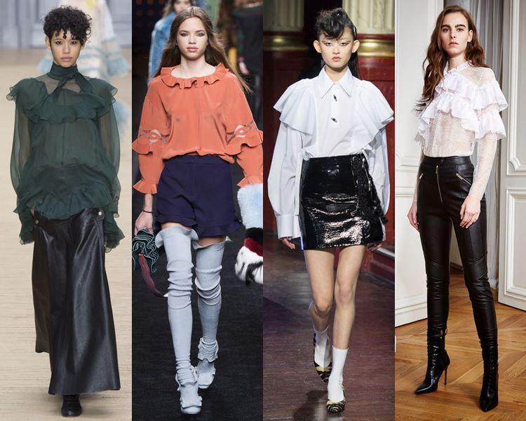 Модные блузки и рубашки осень-зима 2016-2017  (1)