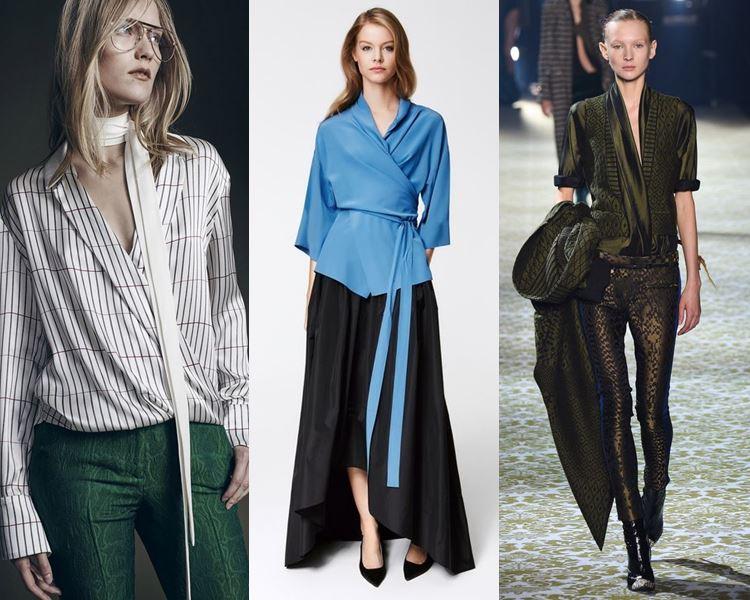 Модные блузки и рубашки осень-зима 2016-2017  (11)