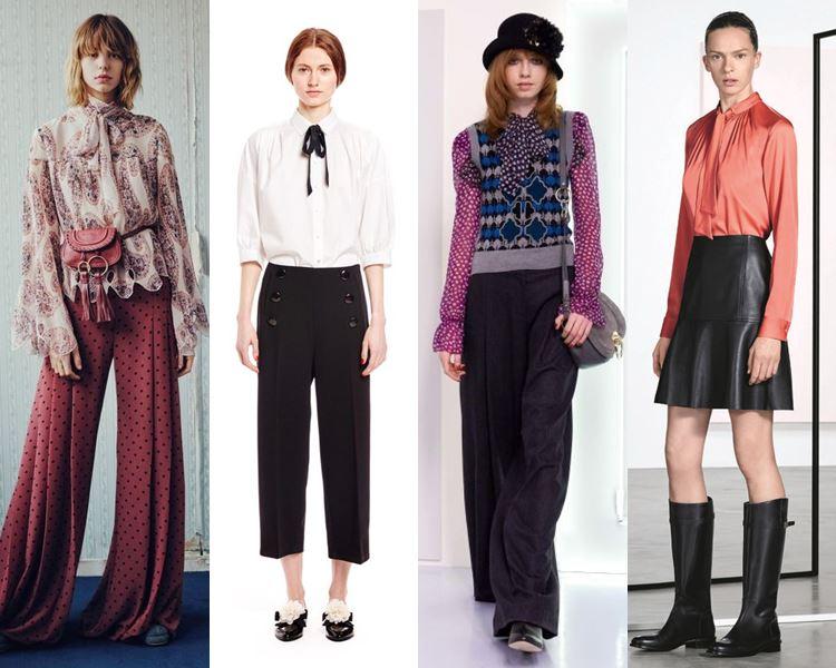 Модные блузки и рубашки осень-зима 2016-2017  (6)