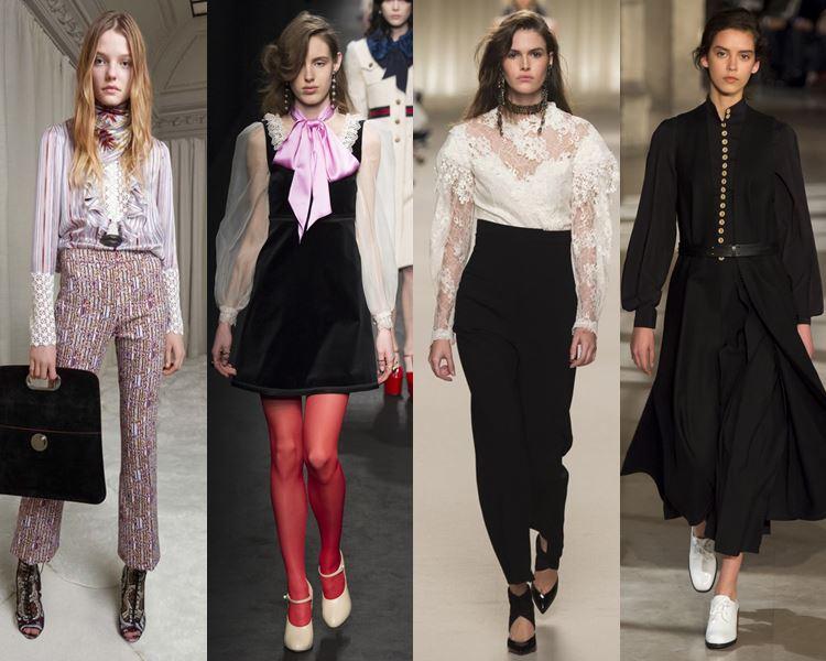 Белые Блузки 2017 Года Модные Тенденции Фото