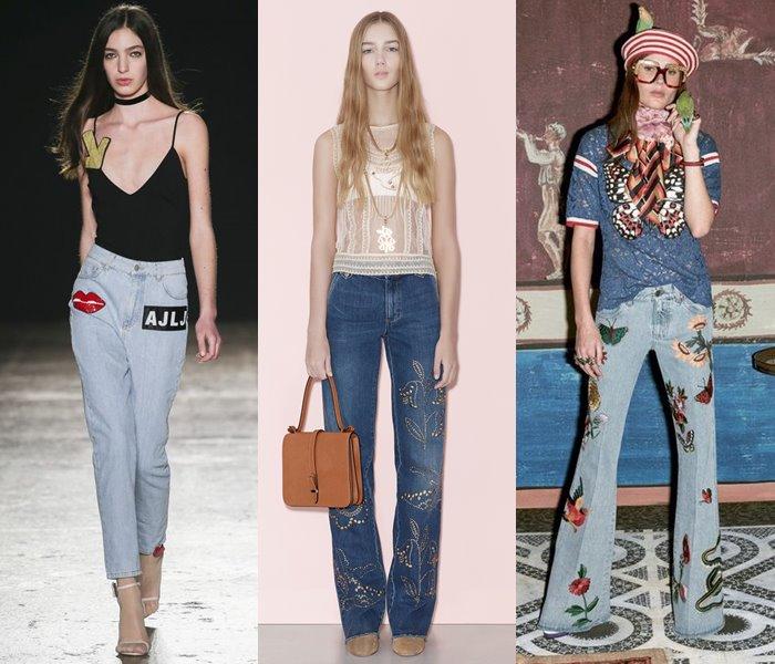 Модные джинсы осень-зима 2016-2017 (7)