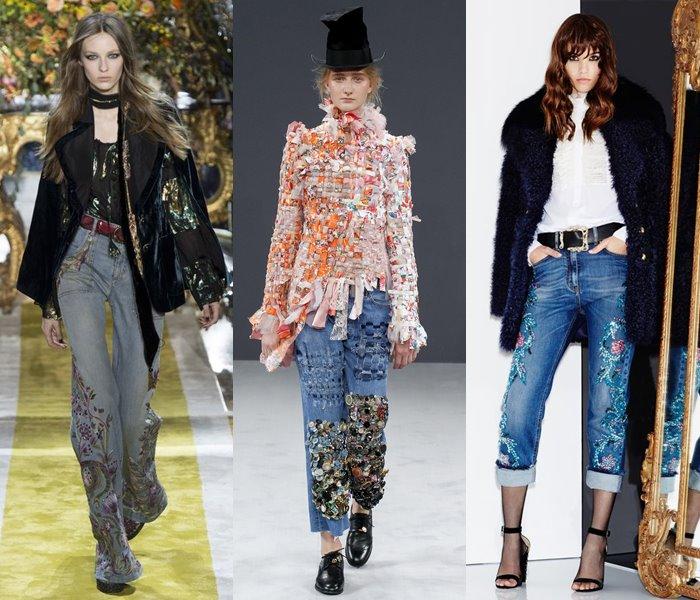 Модные джинсы осень-зима 2016-2017 (8)