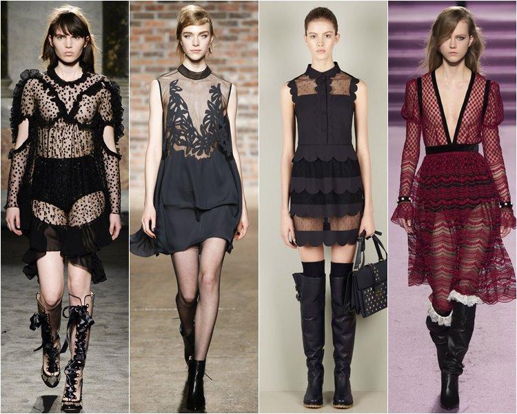 Модные коктейльные платья осень-зима 2016-2017 (13)