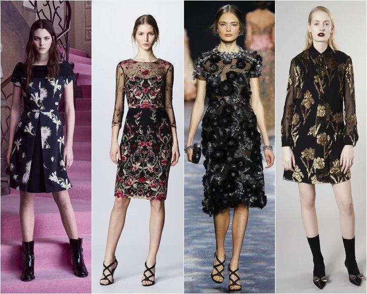 Модные коктейльные платья осень-зима 2016-2017 (14)