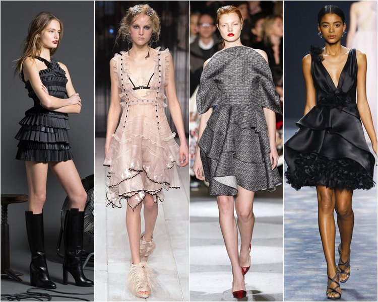 Модные коктейльные платья осень-зима 2016-2017 (2)
