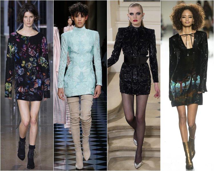 Модные коктейльные платья осень-зима 2016-2017 (3)