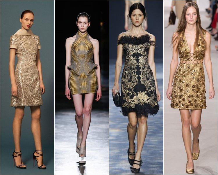 Модные коктейльные платья осень-зима 2016-2017 (4)