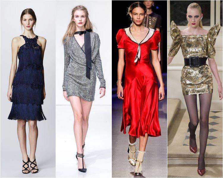 Модные коктейльные платья осень-зима 2016-2017 (7)