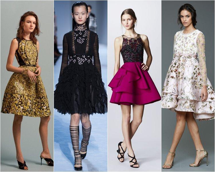 Модные коктейльные платья осень-зима 2016-2017 (8)