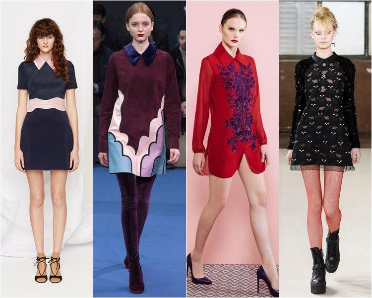 Модные коктейльные платья осень-зима 2016-2017 (9)
