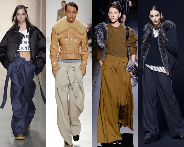 Модные женские брюки осень-зима 2016-2017 (1)