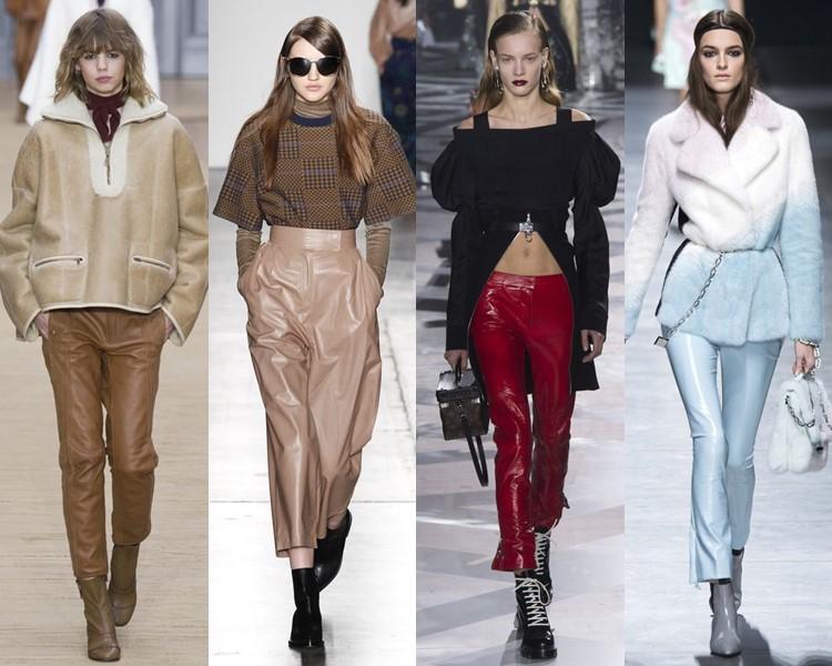 Модные женские брюки осень-зима 2016-2017 (10)
