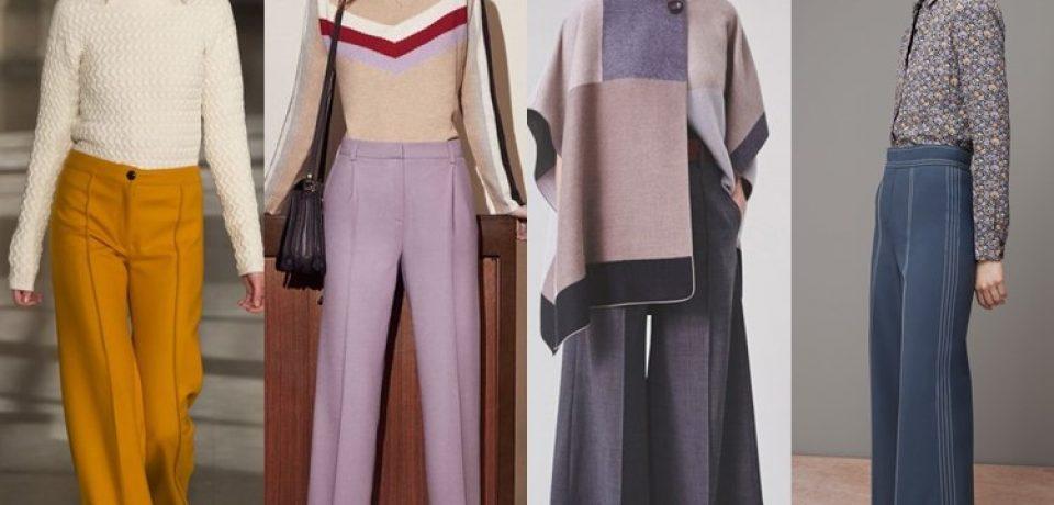 Модные женские брюки осень-зима 2016-2017