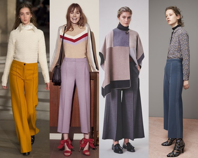 Модные женские брюки осень-зима 2016-2017 (2)