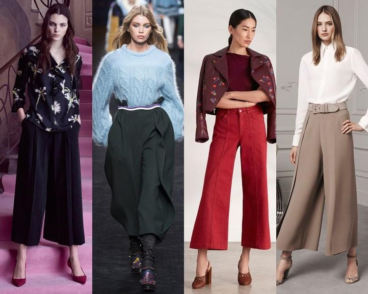 Модные женские брюки осень-зима 2016-2017 (3)
