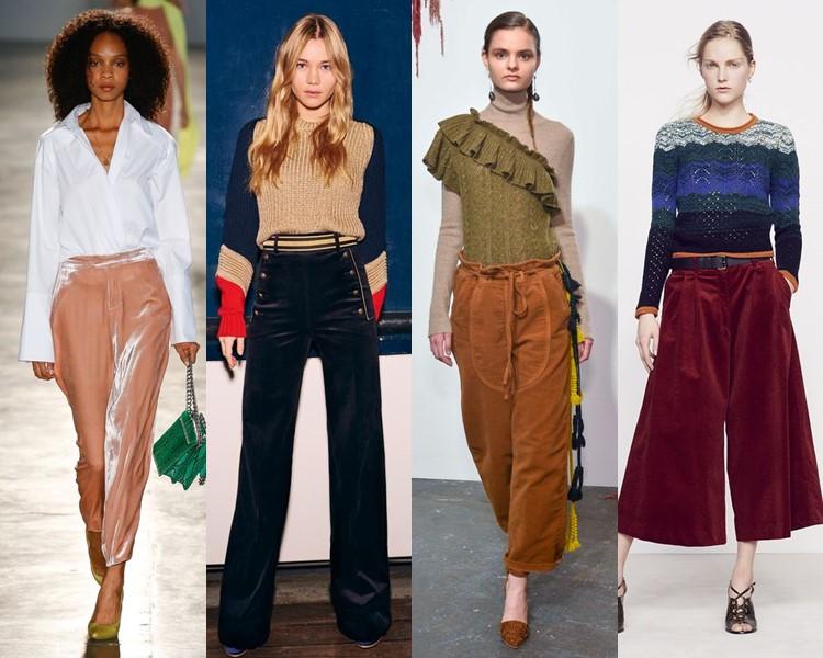 Модные женские брюки осень-зима 2016-2017 (4)