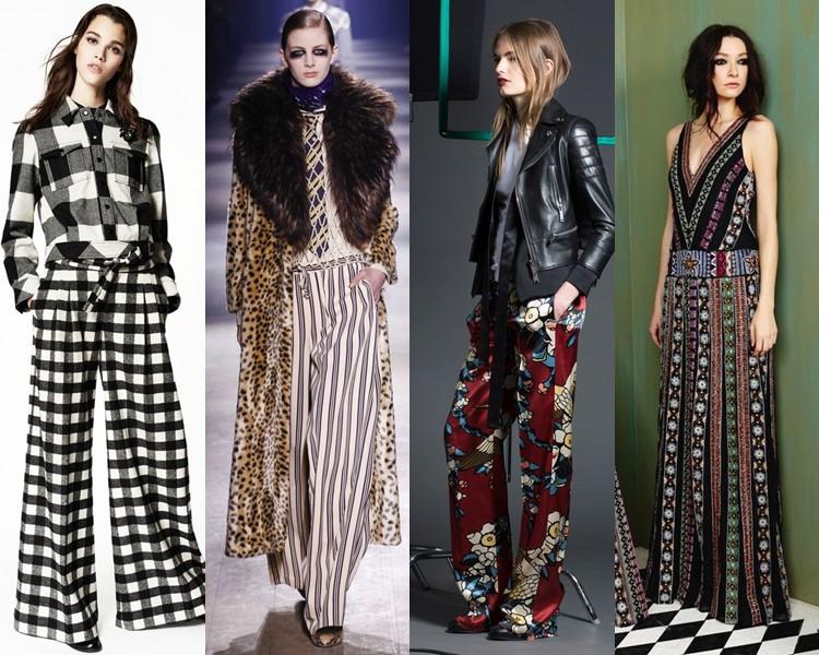 Модные женские брюки осень-зима 2016-2017 (5)