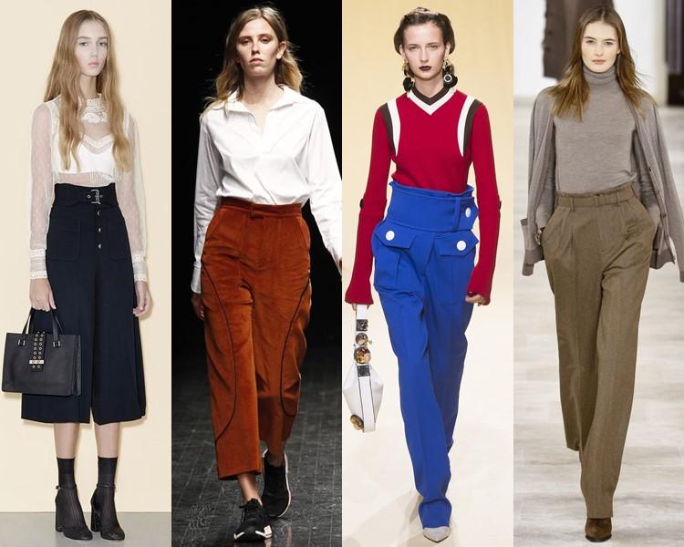 Модные женские брюки осень-зима 2016-2017 (7)