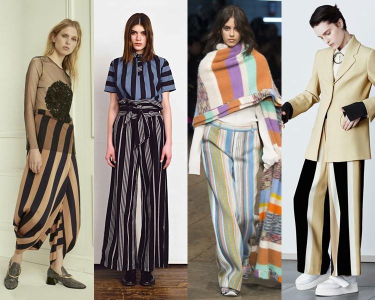 Модные женские брюки осень-зима 2016-2017 (8)