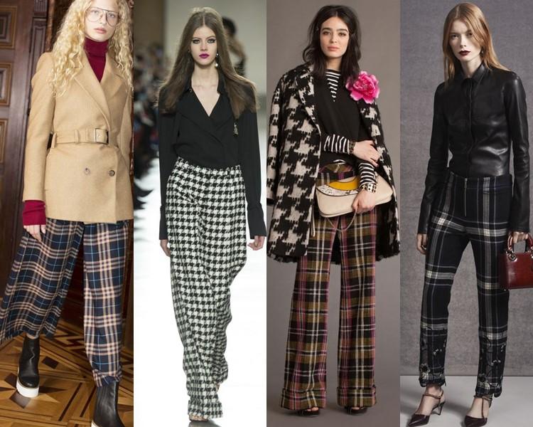 Модные женские брюки осень-зима 2016-2017 (9)