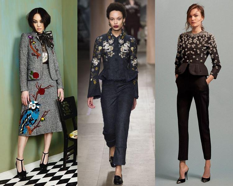 Мода женские костюмы 2017