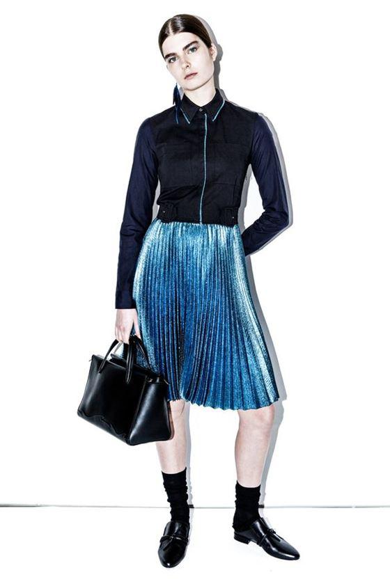 Плиссированные юбки осень-зима 2016-2017 (1)