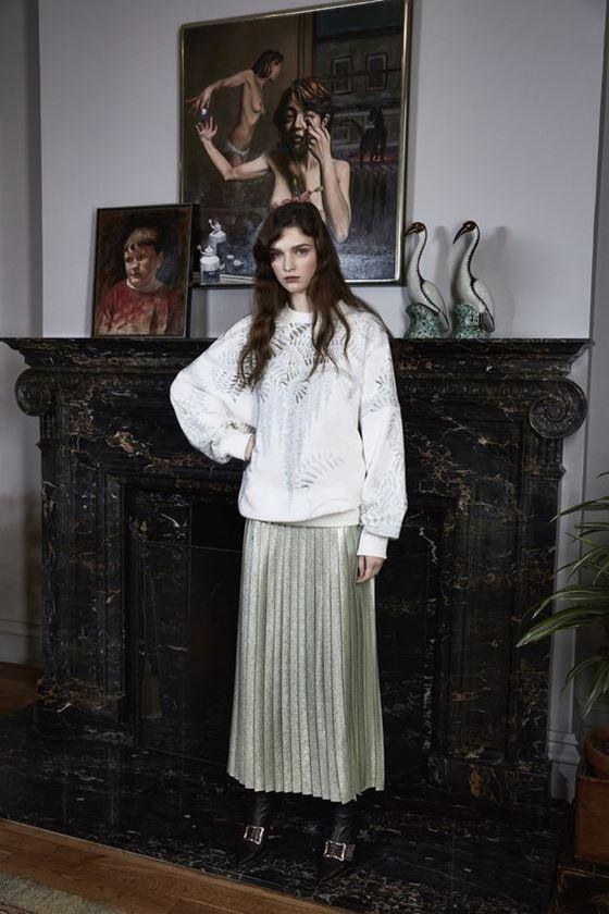 Плиссированные юбки осень-зима 2016-2017 (2)