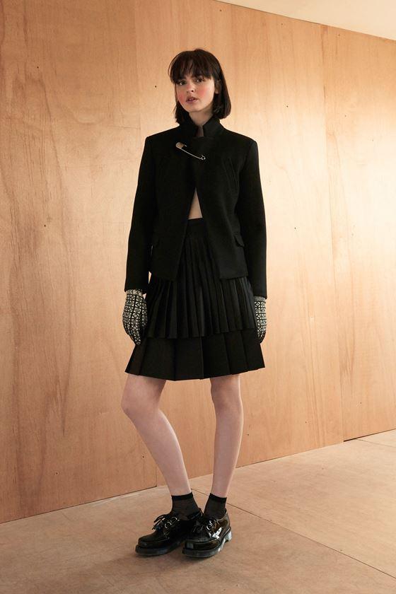 Плиссированные юбки осень-зима 2016-2017 (8)