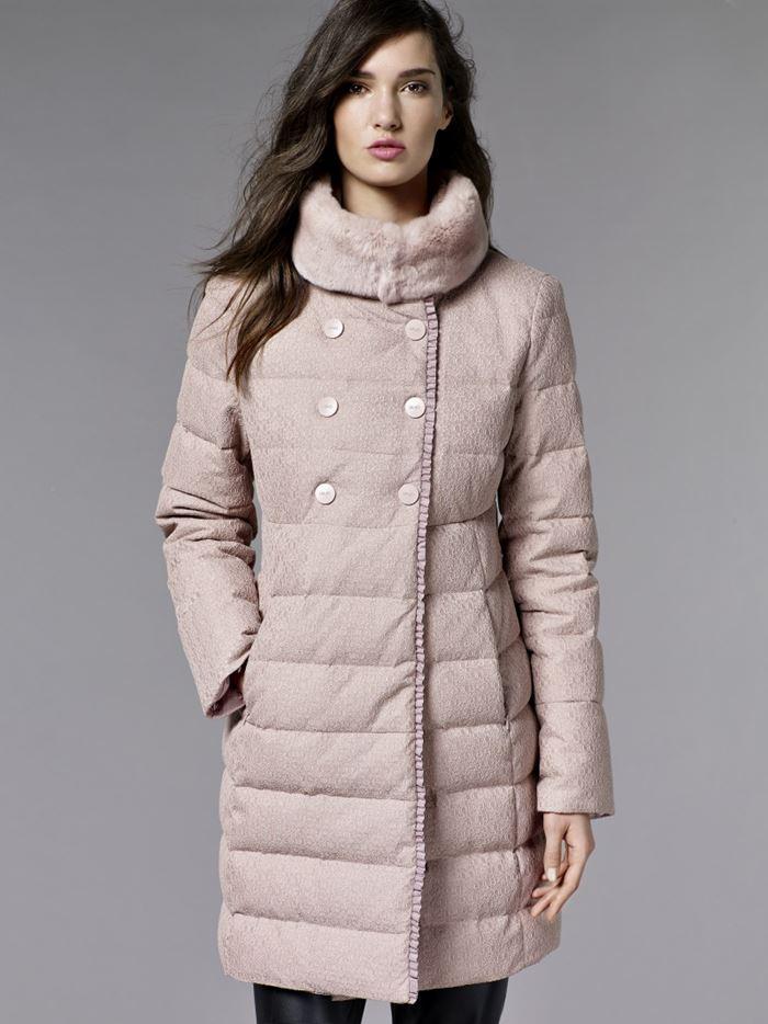 Стеганые куртки Les Plumes Liu Jo осень-зима 2016-2017 (1)