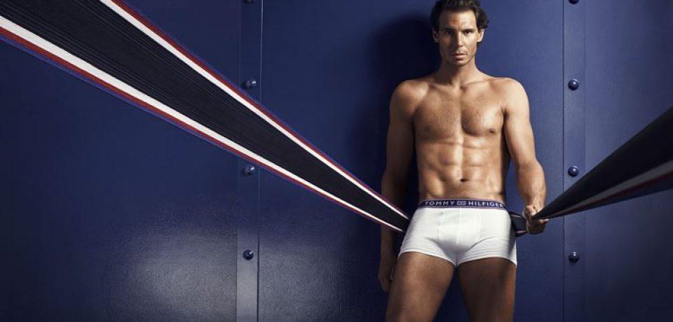 Рафаэль Надаль в рекламной кампании нижнего белья Tommy Hilfiger Осень-2016
