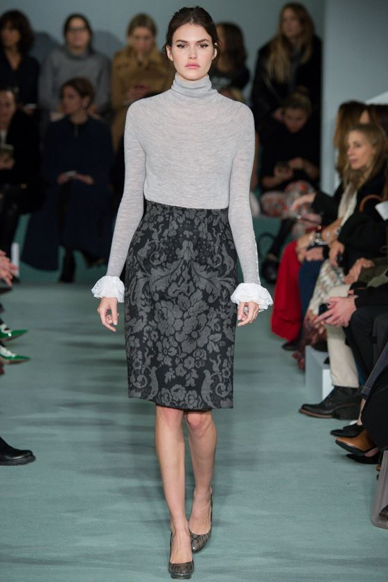 Юбка-карандаш осень-зима 2016-2017 модные тенденции (13)