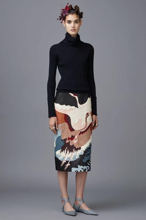 Юбка-карандаш осень-зима 2016-2017 модные тенденции (15)