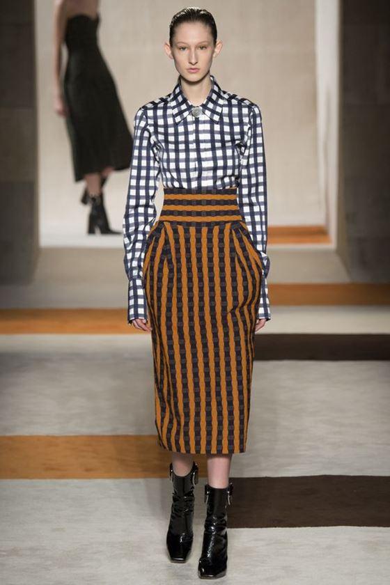 Юбка-карандаш осень-зима 2016-2017 модные тенденции (16)