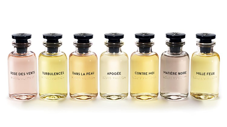 коллекция ароматов les Parfums Louis Vuitton