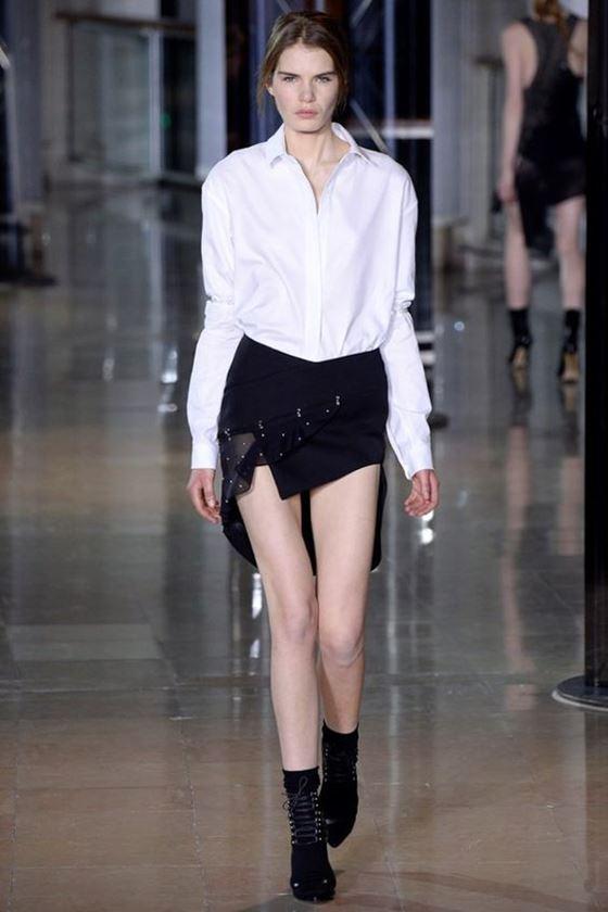 короткие мини юбки осень-зима 2016-2017 (1)