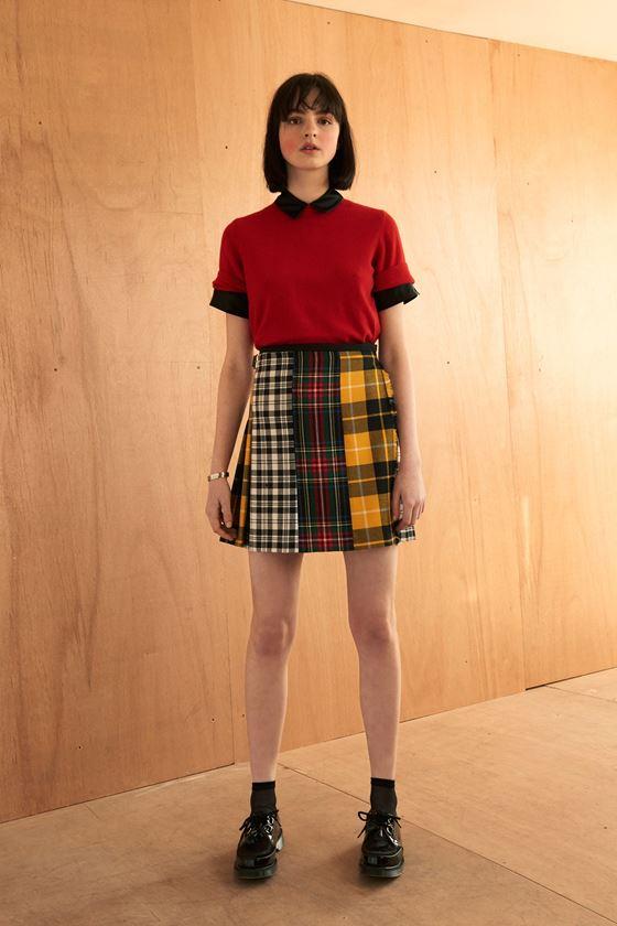 короткие мини юбки осень-зима 2016-2017 (17)