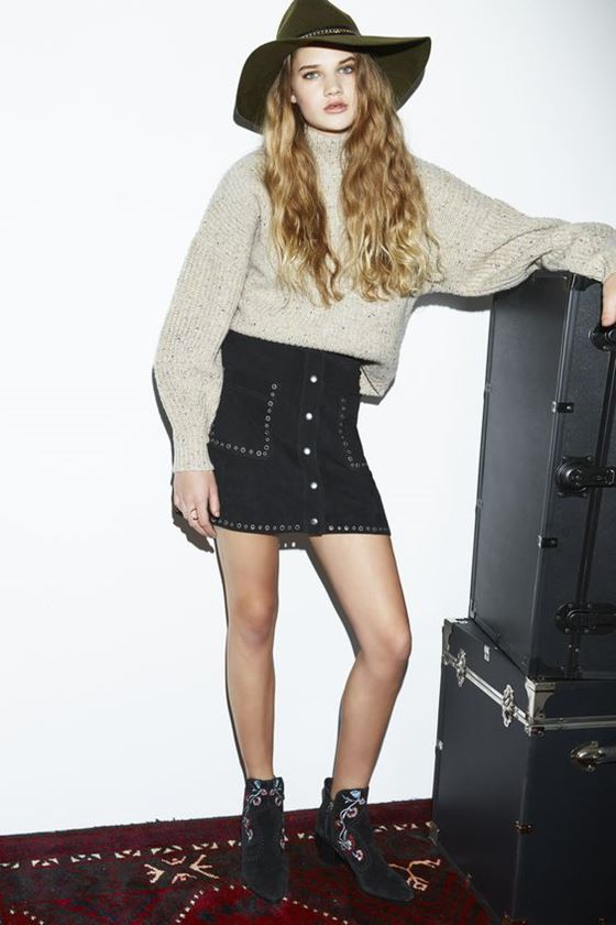 короткие мини юбки осень-зима 2016-2017 (22)